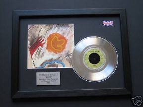 "SPANDAU BALLET - Gold 7"" Platinum DISC with Cover"